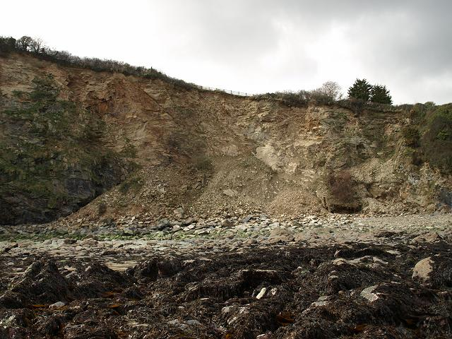 Landslips Landslides and Cliff Falls Coastal Erosion Images