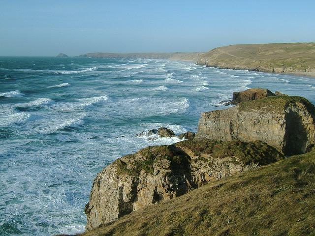 Portreath to Newquay North Cornwall Landscape Photography and Seascapes Headlands Bays Points