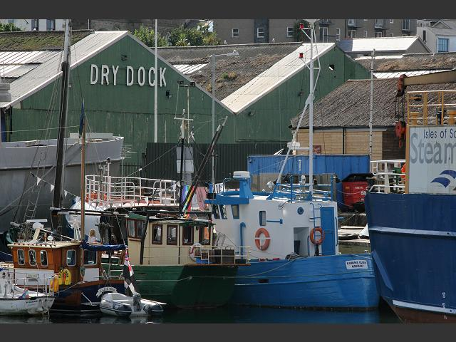 Karina Olsen decommissioned GY1368 Dover Star Fishing Vessel Trawler Images